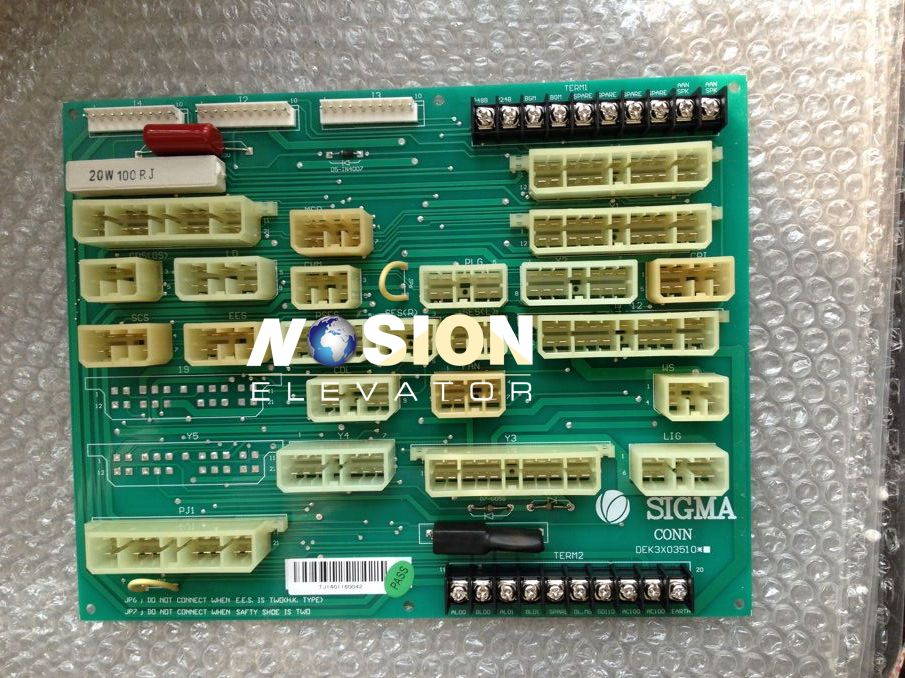 CONN Elevator PCB Elevator Mother Board DEK3X03510