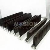 Escalator Skirt Brush End Parts