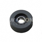 Hyundai Escalator step roller 70 x 25 x 6204 black