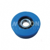 Hyundai Escalator step roller 76 x 25 x 6204 blue