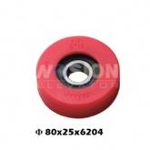 Hyundai Escalator step roller 80 x 25 x 6204