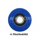 thyssen esclator step roller 75X24 6204
