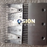 escalator spare parts aluminium comb plate for thyssen elevator