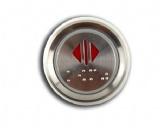 Mitsubishi Elevator Braille Push Button MTD-310-24V