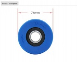 Hyundai Escalator escalator step roller 76*25*6204*2rs